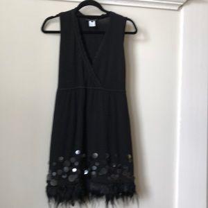 Nanette Lepore black cocktail dress.